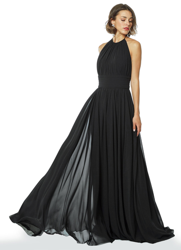 """Grecian Beauty"" Ancient Greek style black dress"