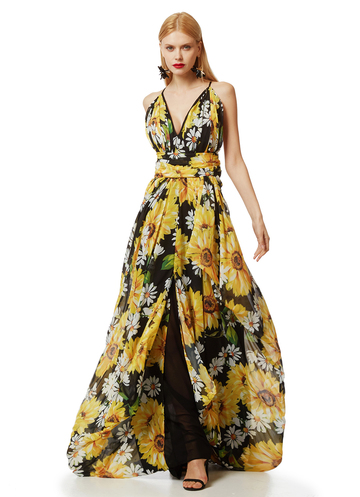 "Floral maxi Dress ""Daisy"""